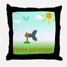 Got Whale Throw Pillow