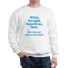 White Straight Republican Male Sweatshirt