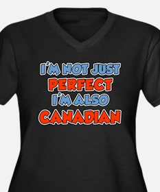 Not Just Perfect Canadian Plus Size T-Shirt