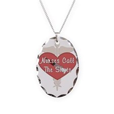 Nurses Call The Shots Necklace