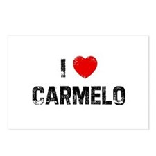 I * Carmelo Postcards (Package of 8)