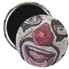 Gothic Clown Magnet