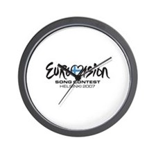 Funny Eurovision Wall Clock