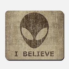 Vintage Alien Mousepad