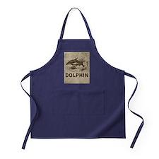 Vintage Dolphin Apron (dark)