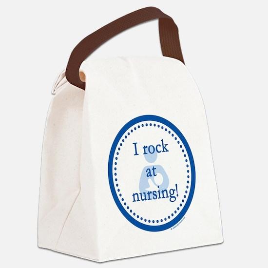 I Rock at Nursing Canvas Lunch Bag