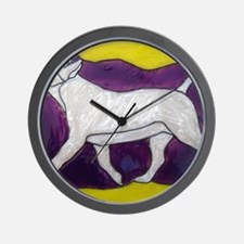 Bully in Motion Wall Clock