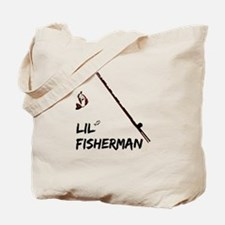 Lil Fisherman Tote Bag