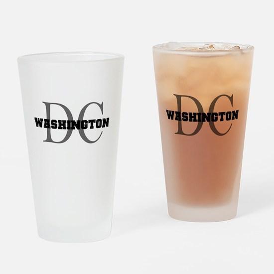 Washington thru DC Drinking Glass
