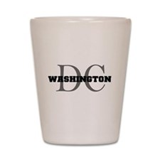 Washington thru DC Shot Glass