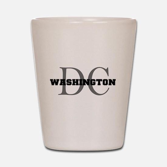 Washington thru DC Shot Glass