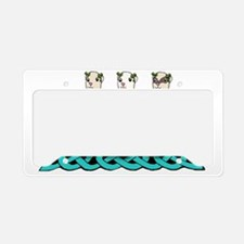 River Dance Ferrets License Plate Holder
