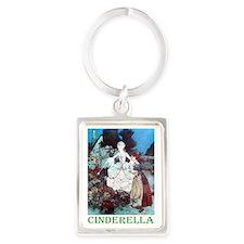 CINDERELLA_GREEN Portrait Keychain