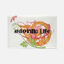 Adoring Life Rectangle Magnet