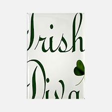 Irish Diva Twin Duvet Rectangle Magnet