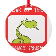 Year of The Snake 1989 Ornament