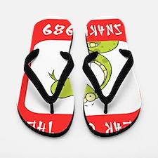 Year of The Snake 1989 Flip Flops
