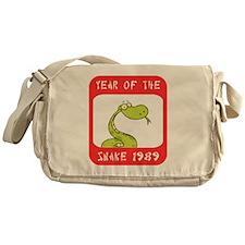Year of The Snake 1989 Messenger Bag
