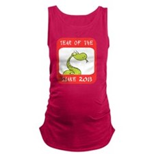 Year of The Snake 2013 Maternity Tank Top