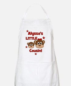 CUSTOM Alyssas Little Cousin - Monkey Design Apron