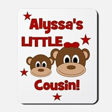 CUSTOM Alyssas Little Cousin - Monkey De Mousepad