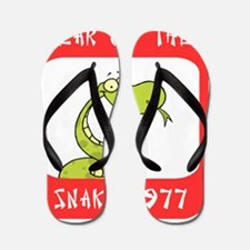 Year of The Snake 1977 Flip Flops