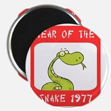 Year of The Snake 1977 Magnet