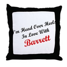 In Love with Barrett Throw Pillow