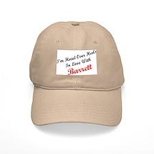 In Love with Barrett Baseball Cap