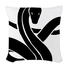 Year of Snake 101 Woven Throw Pillow