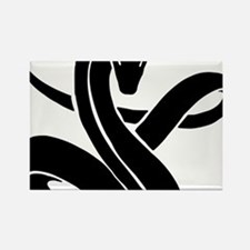 Year of Snake 101 Rectangle Magnet