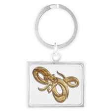 Year of The Snake 103 Landscape Keychain