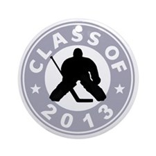 Class Of 2013 Hockey Round Ornament