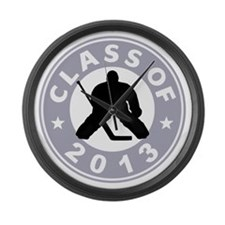 Class Of 2013 Hockey Large Wall Clock