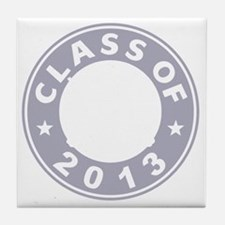 Class Of 2013 Hockey Tile Coaster