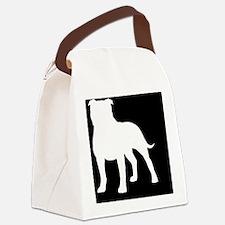 staffyhitch Canvas Lunch Bag
