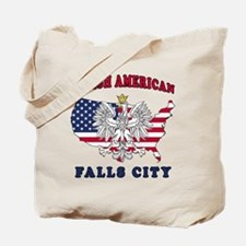 Falls City Texas Polish Tote Bag