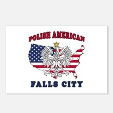 Falls City Texas Polish Postcards (Package of 8)
