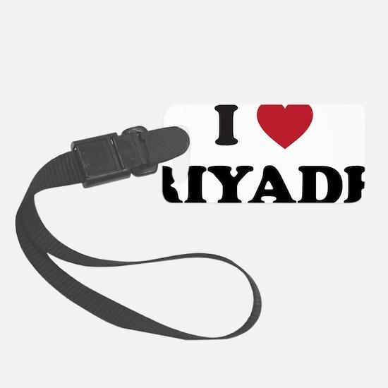 I Love Riyadh Luggage Tag
