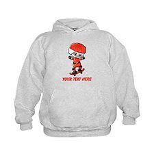 Skating Santa Hoodie