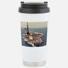 uss midway cva large framed pri Travel Mug