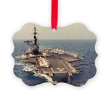 Uss Picture Frame Ornaments