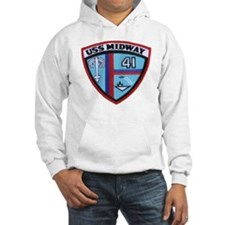 uss midway patch transparent Hoodie