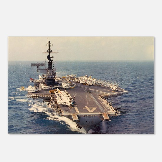 uss midway cv large frame Postcards (Package of 8)