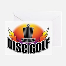 DISC GOLF NEW Greeting Card