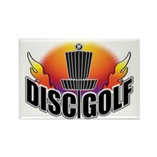 DISC GOLF NEW Rectangle Magnet