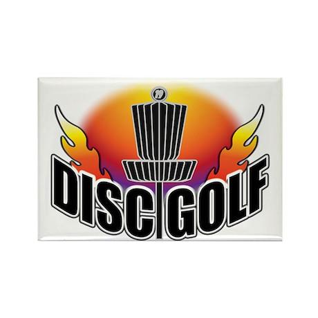 DISC GOLF NEW Rectangle Magnet