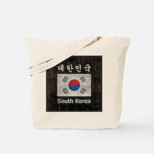 Vintage South Korea Tote Bag