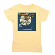 surf-monster-CRD Girl's Tee