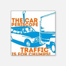 "Car Periscope Shirt Square Sticker 3"" x 3"""